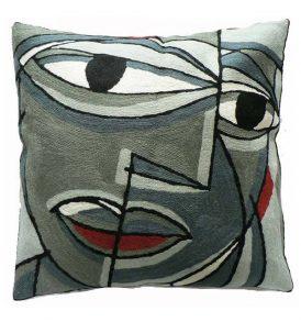 Picasso face grijs